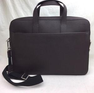 JACK SPADE Barrow' Leather Briefcase